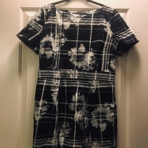 French Connection Wildress Check Dress
